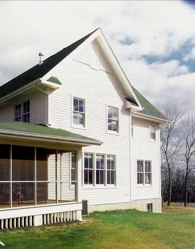 Wonderful farmhouse w wrap around porch hq plans for Metal building house with wrap around porch