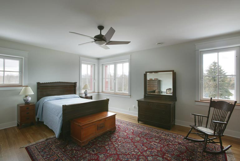 Spacious and comfortable bedrooms