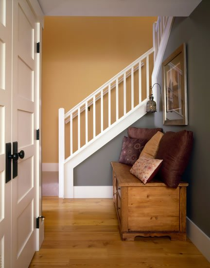 A nook by the staircase