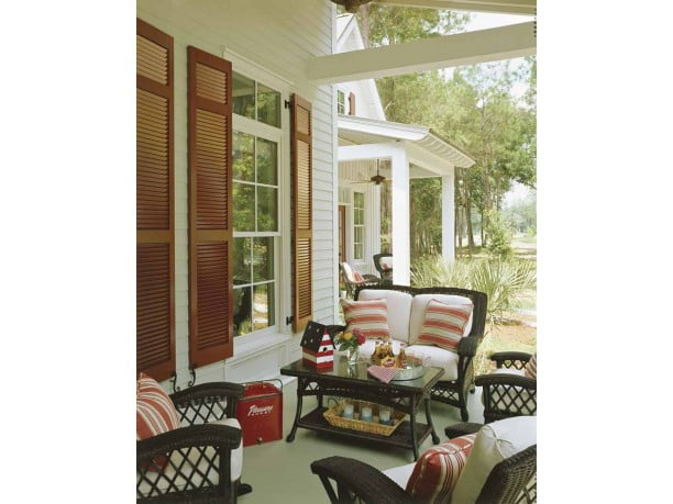 The open porch