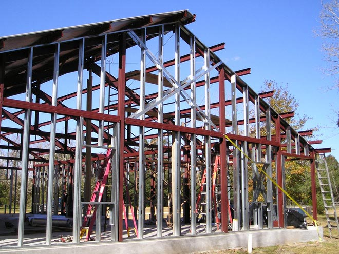 Metal Frame Buildings : Perfect metal steel frame home w different layouts hq