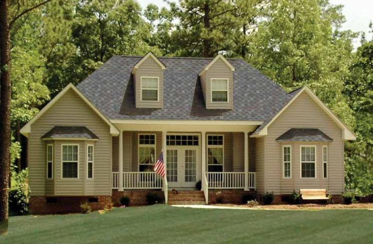 A starter home of 1 380 sq ft perfect for couple or for Small starter house plans