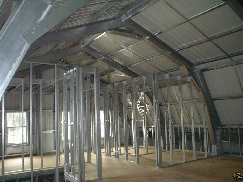 Steel metal home building kit of 3500 sq ft for 36 995 for Steel frame barn homes
