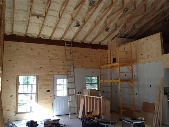 Pole barn interior pictures # Pole Barn Blueprint Design - Storage Sheds Lynchburg Va