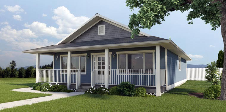 1260 sq ft economical rancher home w front porch hq for Perfect home plans