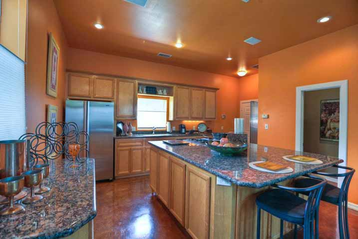 This kitchen is built for your own convenience.