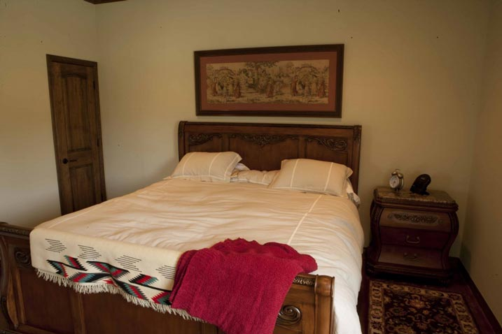 The master's bed room
