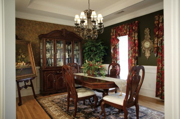 Victorian-style dining room