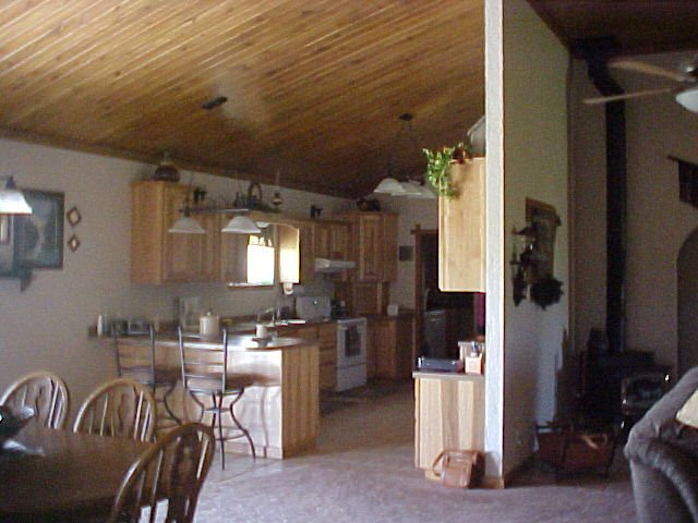 A peek at its dining area and kitchen