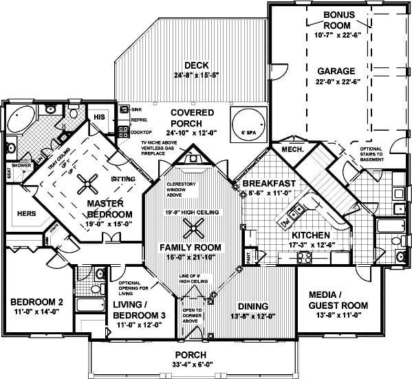 Elegant Country Porch Style Home Of 1 992 Sq Ft Hq Plans