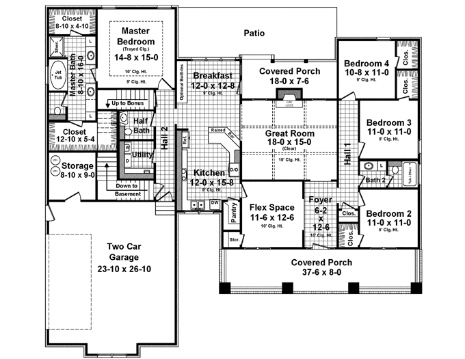 Loved by thousands flexible craftsman house plan hq for Flexible house plans
