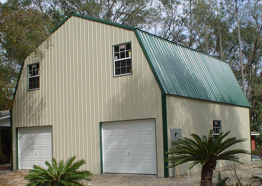 Steel Frame Gambrel Type Homes Starting from 19950 HQ Pictures