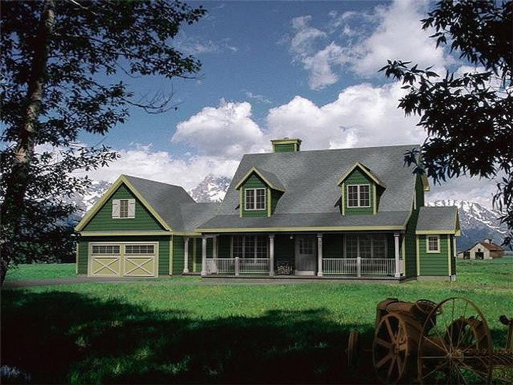 3 bed comfortable farmhouse w many features hq plans Country plans owner builder