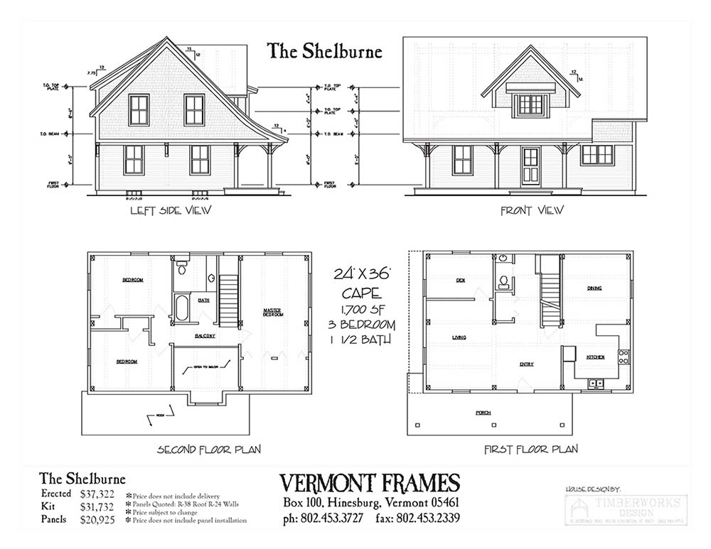 House floor plans with front view escortsea for Front view house plans