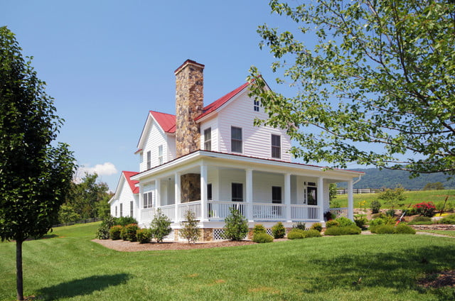 Classic virginia farmhouse w lovely interior 10 hq for Farmhouse style homes for sale