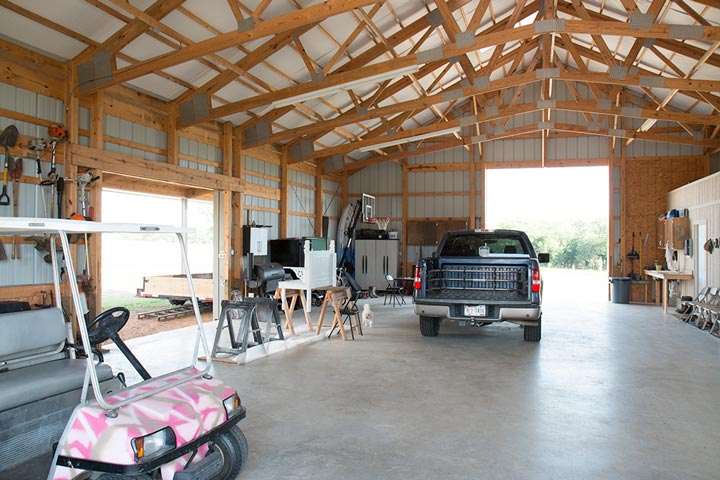 Video Metal Building Garage W Living Quarters Hq Video