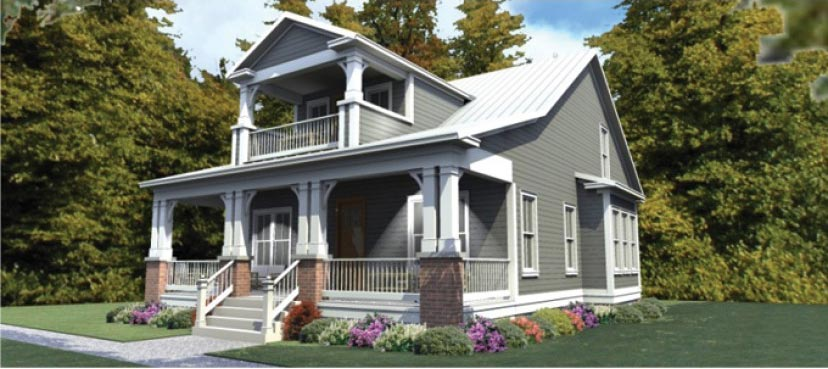 Great craftsman home perfect for steel frame hq plans for Steel frame home plans