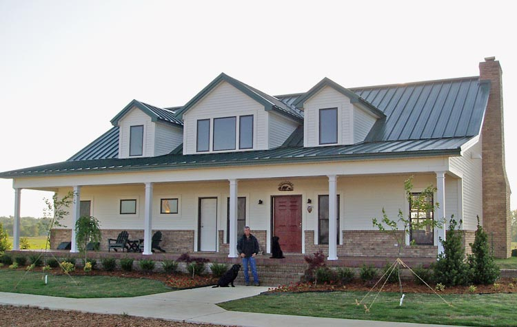 Wonderful Steel Frame Cottage House (15 HQ Pictures ... Steel Frame Homes Near Me