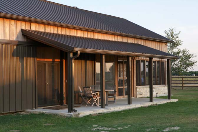 One Hell Of A Custom Metal Home W Wood Siding Hq Plans