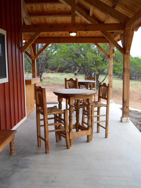 Country Barn Home Kit W Open Porch 9 Pictures Metal
