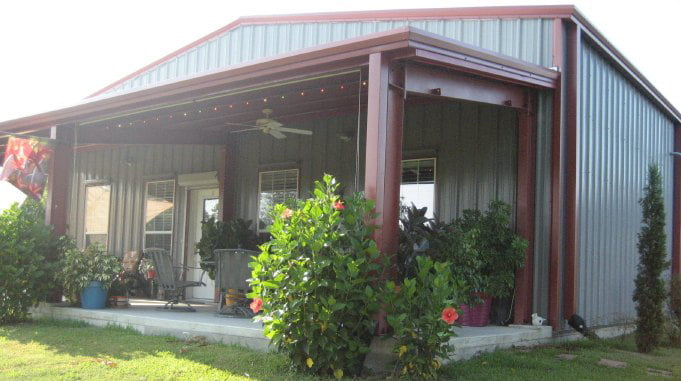 Pre Engineered Super Strong Steel Building In Texas