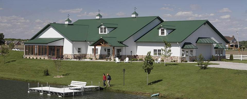 Deluxe Pole Barn Lake House w/ Rustic Porch & Stone Facade ... on extreme ranch home plans, 3 bedroom ranch home plans, green ranch home plans, luxury ranch home plans, small ranch home plans, standard ranch home plans, large ranch home plans, executive ranch home plans, family ranch home plans, cottage ranch home plans, custom ranch home plans, vintage ranch home plans, elegant ranch home plans, basic ranch home plans,