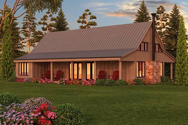 Minimalist Farmhouse Bachelor Pad w/ Beautiful Surroundings