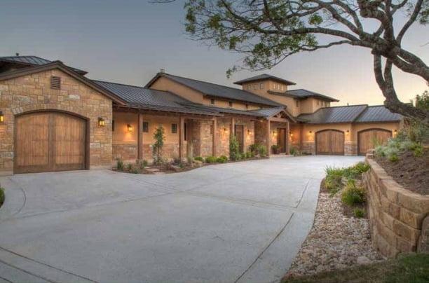 Award winning prairie ranch house w wrap around porch hq for Build a ranch home
