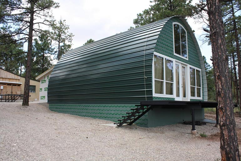 24 x 32 Arched Metal Cabin Kit from $10,000 (18 HQ Pictures ...