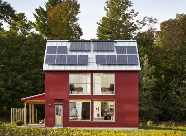 Prefabricated Metal Near-Zero-Energy Costs Home (HQ Pictures ... on renovation home plans, home design plans, hillside home plans, independent energy home plans, residential home plans, net zero home plans, sustainable home plans, natural light home plans, super energy efficient home plans, netzero home plans, solar energy home plans, mountain cabin plans, earth sheltered home plans, one-bedroom cottage home plans, house plans, zero carbon home plans, green home plans, vintage home plans, earthship home plans,