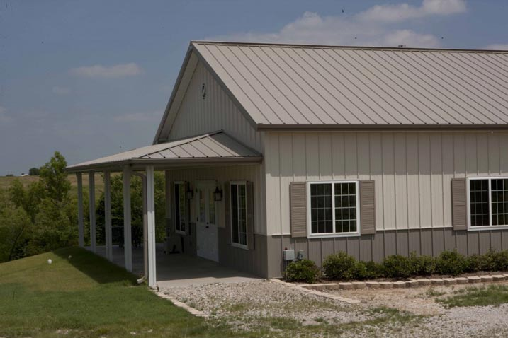 Ideal 30 x 50 Metal Building Home w/ Wrap-around Porch (HQ
