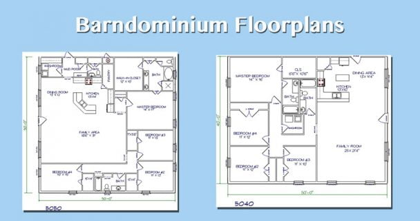 barndominium-floorplans